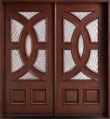 Fancy Wooden Doors in  New Area