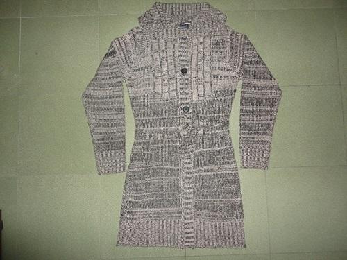 Ladies Button Sweater