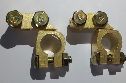 Brass Battery Connector