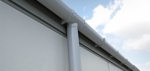 High Roof Water Drain System