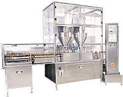 Automatic Four Head Auger Type Dry Syrup Powder Filling Machine