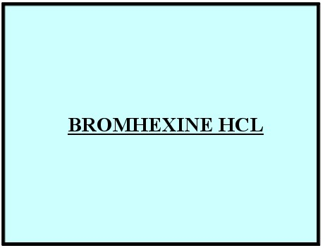 Bromhexine Hcl