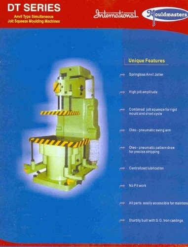DT Series Moulding Machine