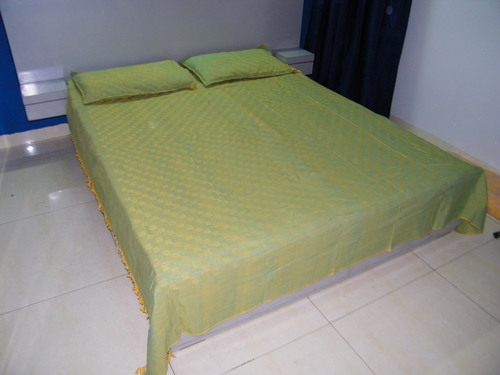 Satranj Handloom Cotton Bed Sheets (90 x100 inches)
