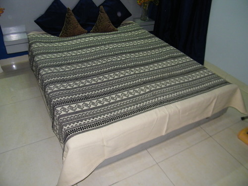 Shalimar Handloom Cotton Bed Sheets (100x108 inches)