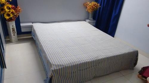 Taru Handloom Cotton Bed Sheets (90x100 inches)