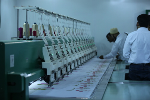 Industrial Knitting Embroidery Machines Exhibition Services in  Okhla - I