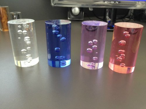 Acrylic Rods with Bubble Inside