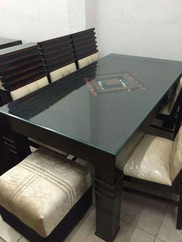 Wooden dining table chair set in kirti nagar new delhi