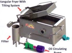 Rectangular Batch Fryer in  Ctm