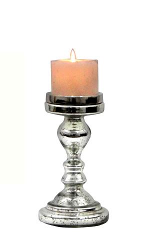Designer Glass Candle Stand in  Asalatpura