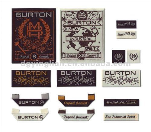 Printed Labels, Woven Labels