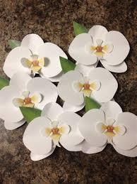 Paper Made Orchid Flower
