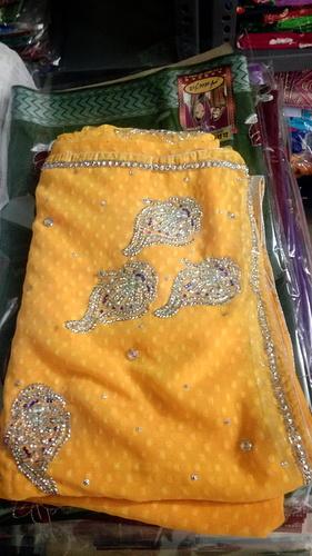 Pure Silk Yellow Saree