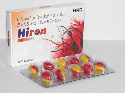 Hiron Multivitamin Softgel Capsules