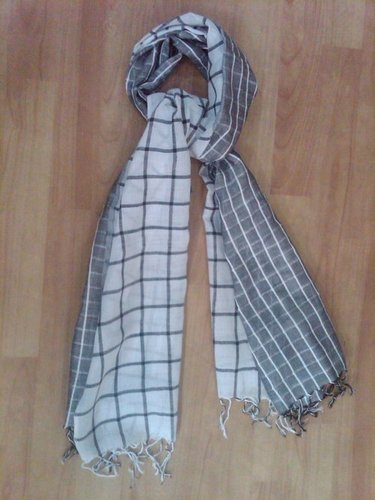 Cotton And Linen Mixed Woven Scarves