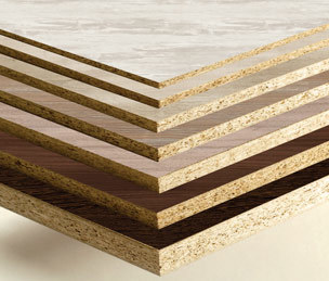 Pre-Laminated Particle Boards