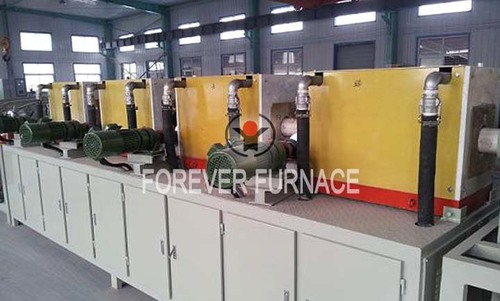 Industrial Steel Pipe Induction Heating Furnace