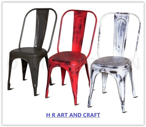 French Style Metal Chairs in  Basni Phase-Ii