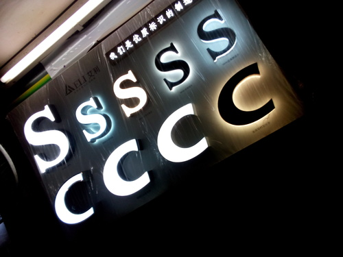 LED Letter Sign Boards
