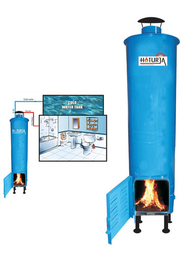 Fire Water Boiler ~ Gas fired water heater in anand gujarat hoturja industries