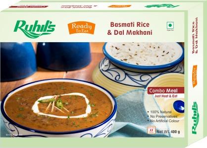 Bamati Rice & Dal Makhani