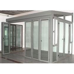 Aluminium Door Work in  Trimurti Nagar
