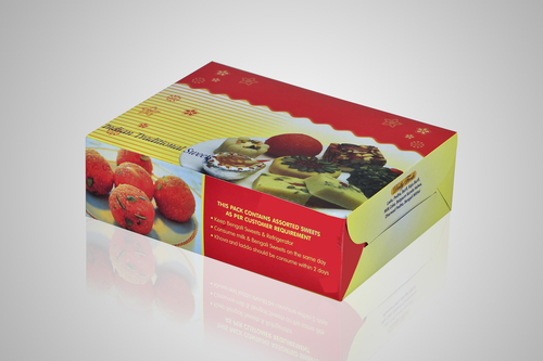 Customized Sweet Packaging Box in   Sivakasi East