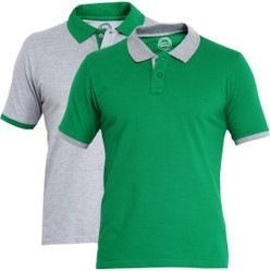 Cotton Branded Collar Men Polo T Shirts