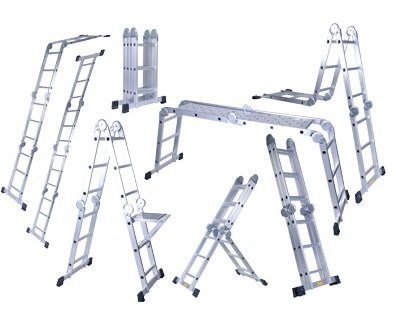 Folding Multipurpose Ladders in  Adajan
