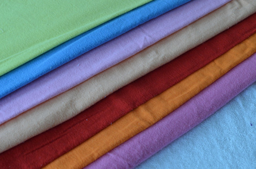 Dyed Flannel Fabric