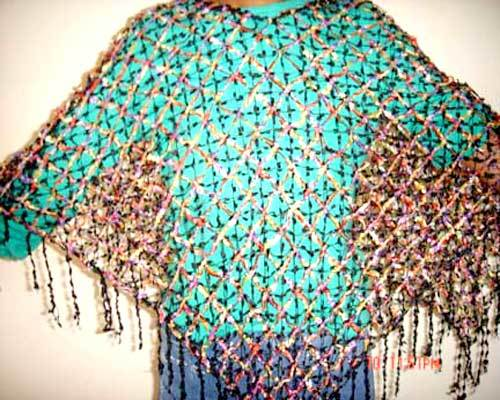 Stylish Poncho in  Kasna