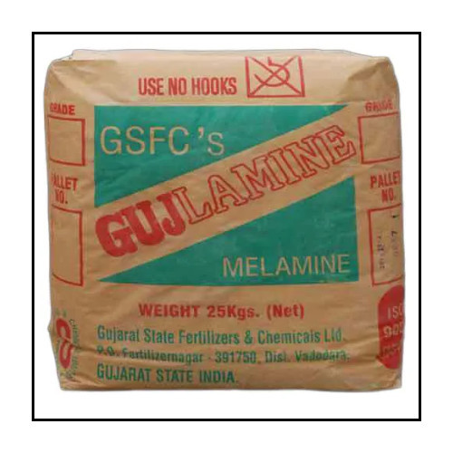 Melamine Crystal Powder 99.8% Purity