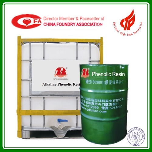 Ester Cured Phenol Resin