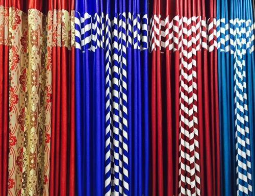 3Pc Readymade Curtains