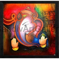 Ganesha - Modern Art Paintings