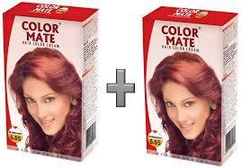 Color Mate Hair Color Cream