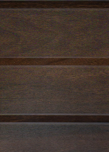 Cherry Walnut Fabric Channel