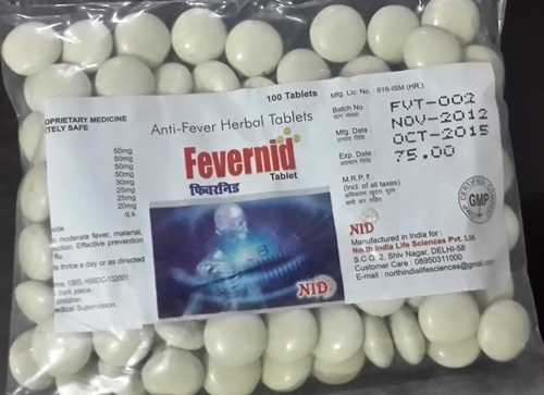 Fevernid Anti Fever Herbal Tablet