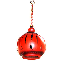 Stylish terracotta lamp shade in kolkata west bengal green house stylish terracotta lamp shade in barisha aloadofball Choice Image