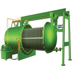 Horizontal Pressure Leaf Filter For Edible Oil Industries