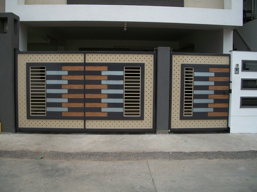 Automatic Gate Automatic Gate in Singanallur Coimbatore Dynamic Engineering  Works  Compound Main Gate Designs SNSM155. Design Of Compound Gate   JulietteTemple com