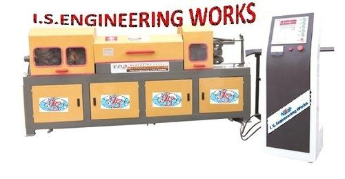Bar Straightening And Cutting Machine