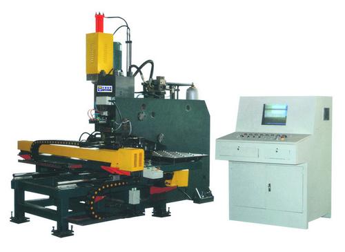 Plate Punching Drilling Marking Machine
