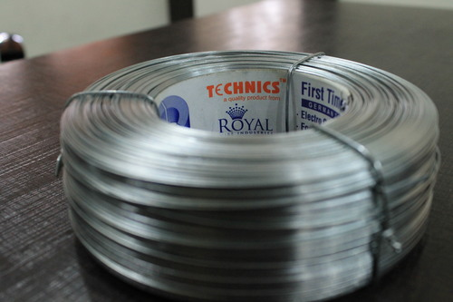 Flat Galvanised Stitching Wire (13x25)