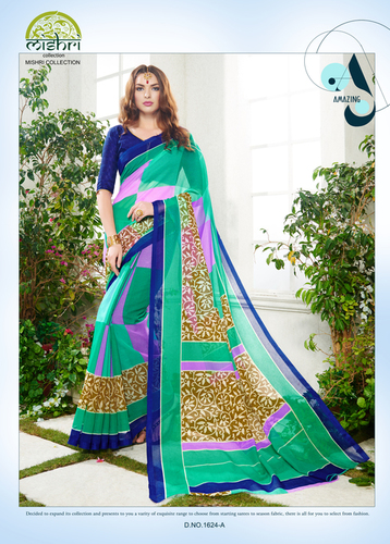 Mishri Super Net Sarees in  Umarwada