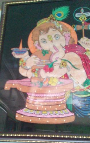Lord Ganesha With Shivalinga