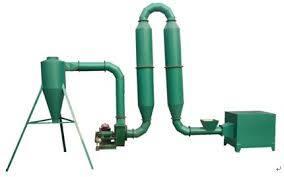Powdery Biomass Dryer