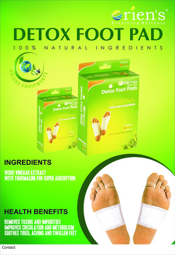 how to use detox foot pads