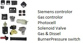 Gas Diesel Burner Pressure Switch